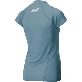 inov-8 Base Elite Sous-vêtement à manches courtes Femme, blue grey